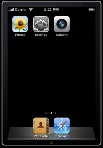 iPhone4シミュレータ